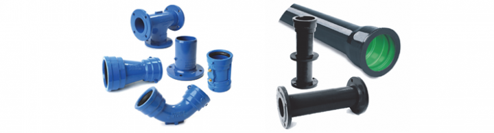 Ductile iron pipes fittings dicl clover pipelines