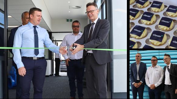 Clover opens Perth distribution centre.